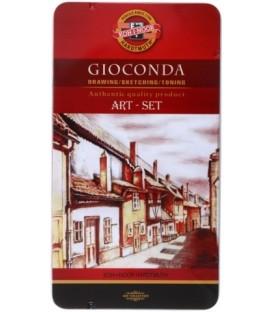 Набор художественный для эскизов Gioconda Art-Set 10 предметов
