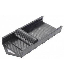 Пресс для выдавливания краски Conda 175*75 мм, пластиковый черный
