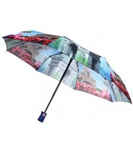 Зонт женский от дождя (автомат) «Париж»