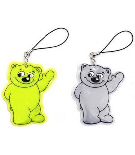 Брелок светоотражающий детский Darvish «Медвежонок»