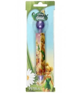 Ручка шариковая автоматическая детская одноразовая с головоломкой стержень синий, Disney, «Феи», ассорти