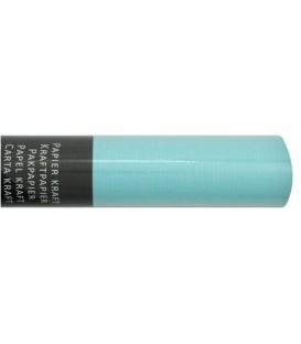 Бумага упаковочная подарочная Clairefontaine Kraft Paper 3 м*70 см, Coloured Kraft, голубая