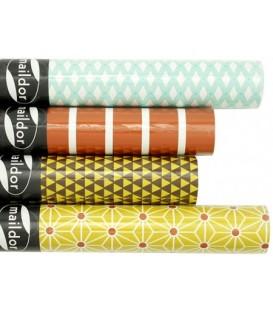 Бумага упаковочная подарочная Maildor 2 м*70 см, Fashion, ассорти