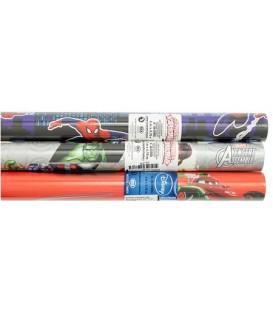 Бумага упаковочная подарочная Clairefontaine Alliance Paper 2 м*70 см, Disney, для мальчиков, ассорти