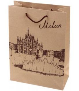 Пакет подарочный «Лиа Пак» 22*31*10 см, Milan