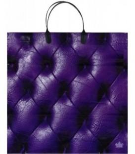 Пакет подарочный «Тико-пластик» 35*35 см, «Фиолетовая кожа»