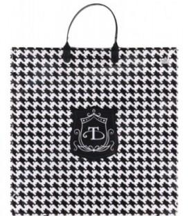 Пакет подарочный «Тико-пластик» 35*35 см, «Шанель»