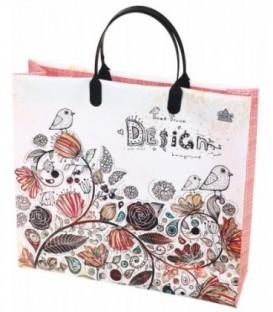 Пакет подарочный «ТИКО-Пластик» 30*28 см, «Птичка»