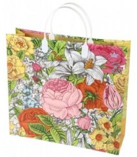Пакет подарочный «ТИКО-Пластик» 30*28 см, «Праздник цветов»