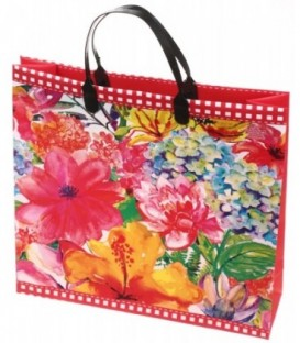 Пакет подарочный «ТИКО-Пластик» 30*30 см, 140 мкм, «Цветные краски»