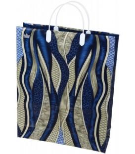 Пакет подарочный «Тико-пластик» 30*40 см, «Ультрамарин»