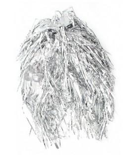 Парик новогодний «Феникс Презент» длина 35 см, серебристый
