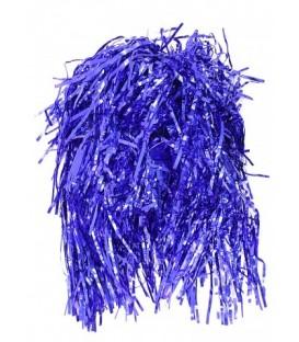 Парик новогодний «Феникс Презент» длина 35 см, синий