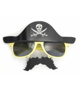 Очки карнавальные «Феникс Презент» 18*16,5*14 см, «Пират»