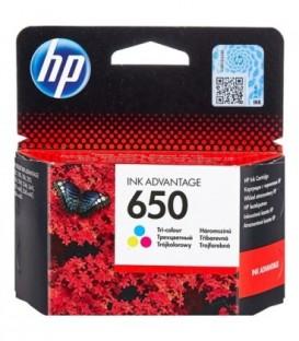 Картридж CZ102AE HP 650 Tri-colour Original Ink Cartridge картридж со встроенной печатающей головкой