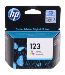 Картридж F6V16AE HP 123 Tri-colour Original Ink Cartridge картридж со встроенной печатающей головкой