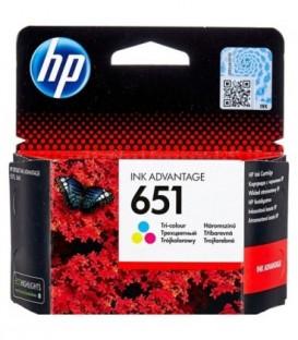 Картридж C2P11AE HP 651 Tri-colour Original Ink Cartridge картридж со встроенной печатающей головкой