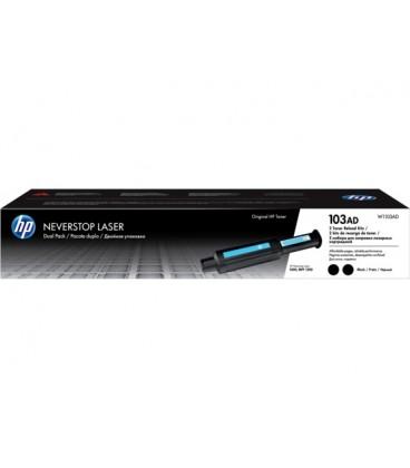 Картридж W1103AD HP 103AD Neverstop Toner Reload Kit 2-Pack двойной картридж лазерный черный
