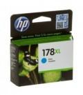 Картридж CB323HE HP 178XL голубой струйный картридж увеличенной емкости