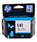 Картридж CB337HE HP 141 Tri-color Original Ink Cartridge картридж со встроенной печатающей головкой