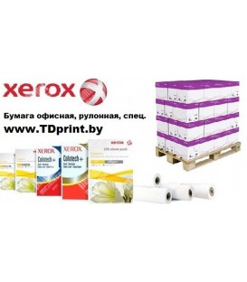 Бумага рулонная XEROX, 75г/м2, А3+, (310*175м*76), цена за 1 рулон арт. 450L91157