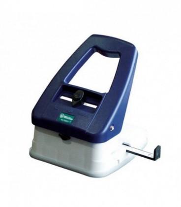 Вырубщик, перфоратор, выполняет три функции: круглое отверстие, овальное, округляет угол.