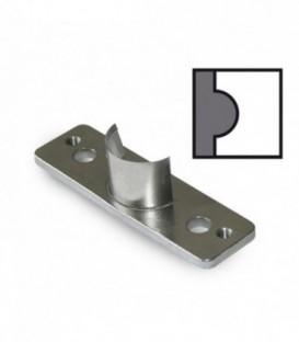 Марзан-пластмассовый пятак на который опускается нож во время работы округлителя