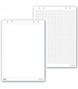 Бумага (блок) для флип-чарта 650х1000 мм, 20 листов (клетка)
