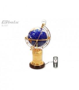 Глобус напольный d 22см высота 56см, сфера инкрустирована