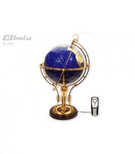 Глобус напольный d 32см высота 72см, сфера инкрустирована