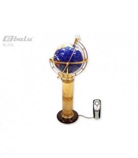Глобус напольный d 34см высота 106см, с подсветкой и пультом управления «Планета воды»