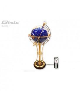 Глобус напольный d 34см высота 106см, сфера инкрустирована