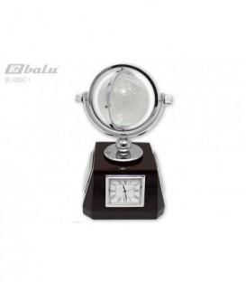 Глобус настольный d 06см, высота 10*10*20см, прозрачный