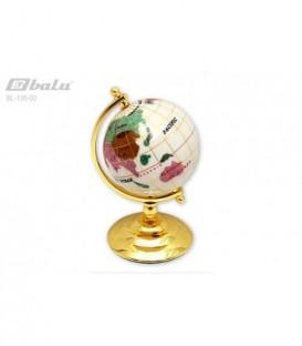 Глобус настольный d 08см, высота 14см, на подставке
