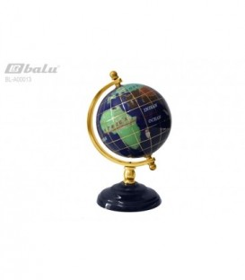Глобус настольный d 09см, высота 14см, на подставке