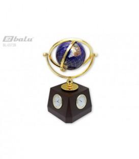 Глобус настольный d 10см, высота 15*15*32см