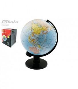 Глобус настольный, d 30см, рельефная поверхность