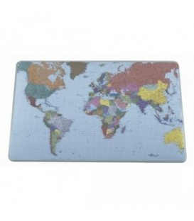 """Бювар 40*53 см """"Карта мира"""" разноцветный"""