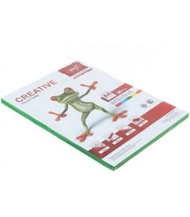 Бумага офисная цветная Kris Creative Intensive А4 (210*297 мм), 80 г/м2, интенсив, 100 л., зеленая