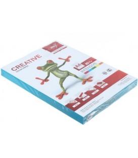 Бумага офисная цветная Kris Creative Intensive А4 (210*297 мм), 80 г/м2, интенсив, 250 л., голубая