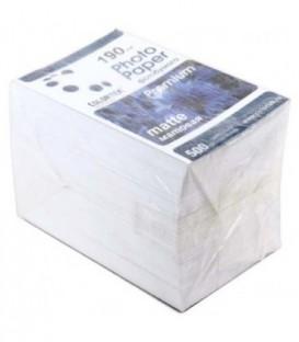 Бумага для струйной фотопечати матовая односторонняя Colortek А6 (100*150 мм), 190 г/м2, 500 л.