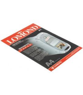 Бумага для струйной фотопечати матовая односторонняя с магнитным слоем Lomond А4 (210*297 мм), 2 л., 620 г/м2, белая