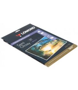 Бумага для струйной фотопечати полуглянцевая Lomond А4 (210*297 мм), 265 г/м2, 20 л., двусторонняя