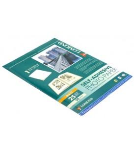 Бумага самоклеящаяся для струйной фотопечати матовая Lomond А4 (210*297 мм), 90 г/м2, 25 л., матовая, белая