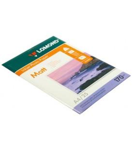 Бумага для струйной фотопечати матовая двусторонняя Lomond А4 (210*297 мм), 170 г/м2, 25 л., двусторонняя