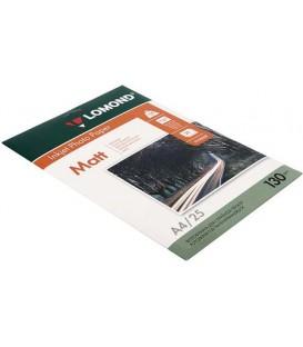 Бумага для струйной фотопечати матовая двусторонняя Lomond А4 (210*297 мм), 130 г/м2, 25 л., двусторонняя