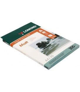 Бумага для струйной фотопечати матовая двусторонняя Lomond А4 (210*297 мм), 200 г/м2, 50 л., двусторонняя