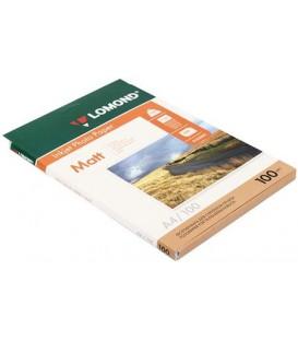 Бумага для струйной фотопечати матовая двусторонняя Lomond А4 (210*297 мм), 100 г/м2, 100 л., двусторонняя