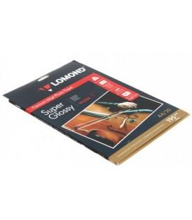 Бумага для струйной фотопечати суперглянцевая Lomond А4 (210*297 мм), 195 г/м2, 20 л., односторонняя