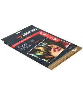 Бумага для струйной фотопечати суперглянцевая Lomond А4 (210*297 мм), 260 г/м2, 20 л., односторонняя